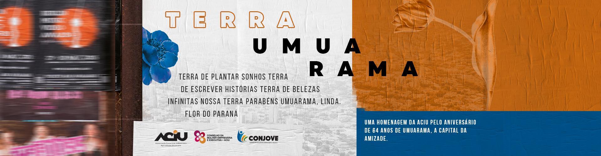Aniversário de 64 anos de Umuarama