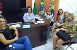 Conselho da Mulher Empresária visita a presidente da Câmara de Vereadores