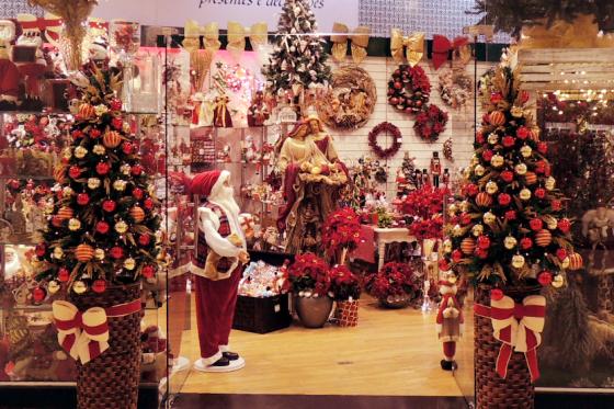 Abertas as inscrições para o Concurso de Decoração Natalina (vitrine)