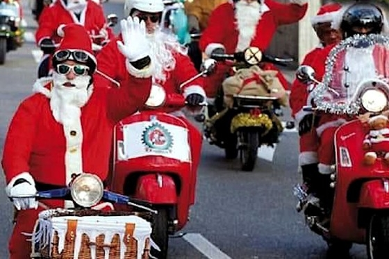 Chuva transfere Desfile de Papais Noéis Motociclistas para sexta-feira