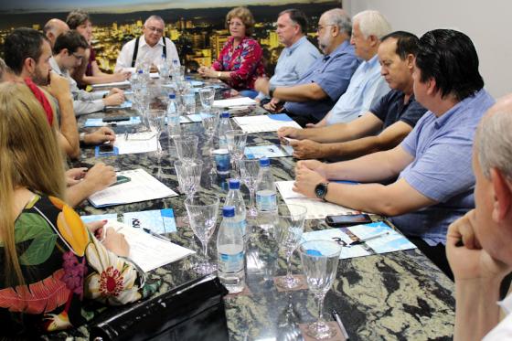 Diretoria executiva da Aciu realiza primeira reunião do ano