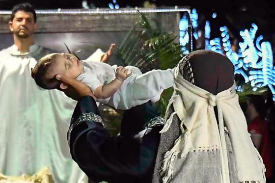 Encenação 'Sem Jesus não é Natal' encerra programação natalina
