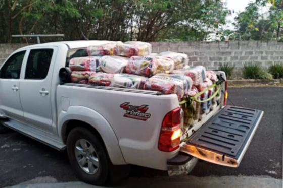 Parceria com empresa dobra doações de alimentos de campanha do Lions