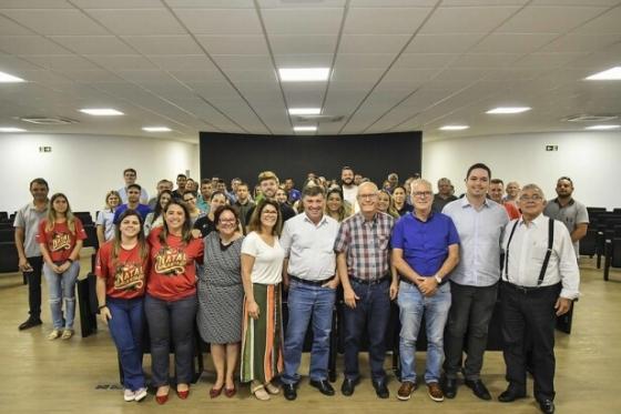 Prefeitura e Aciu agradecem parceiros que atuaram no Natal Encantado