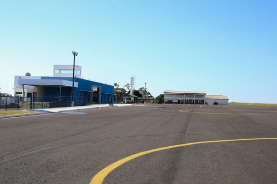 Reformas no aeroporto garantirão voos comerciais em Umuarama