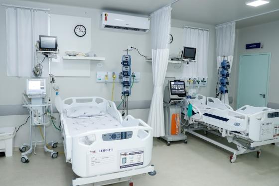 Umuarama recebe reforço de dez leitos de UTI na estrutura hospitalar