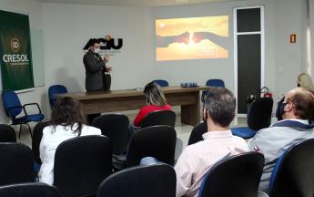 Cresol - assinatura do contrato de cessão de área para unidade de Umuarama